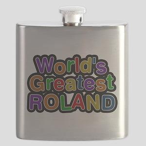 Worlds Greatest Roland Flask