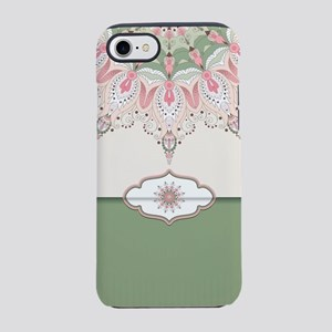Decorative Floral iPhone 8/7 Tough Case