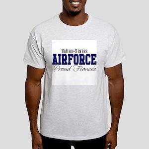 Proud Fiancee Ash Grey T-Shirt