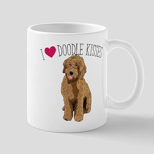 I Love Doodle Kisses 11 oz Ceramic Mug
