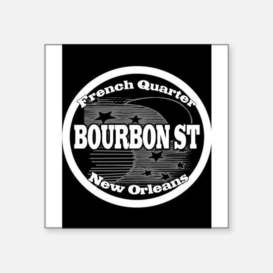 Bourbon St. NOLA Watermeter New Orleans Fr Sticker