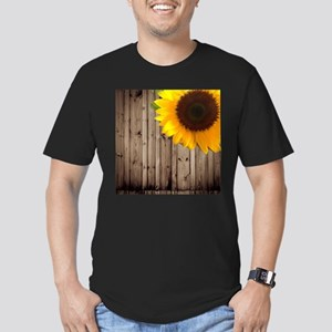 rustic barn yellow sunflower T-Shirt