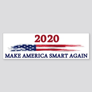 Make America Smart Again Bumper Sticker