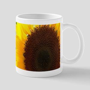 sunflower primitive barn wood Mugs