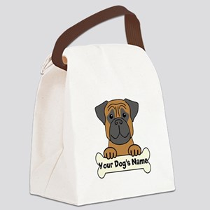Personalized Bullmastiff Canvas Lunch Bag