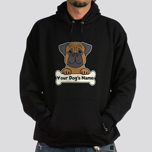 Personalized Bullmastiff Hoodie (dark)