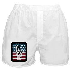 Hand Symbol Boxer Shorts