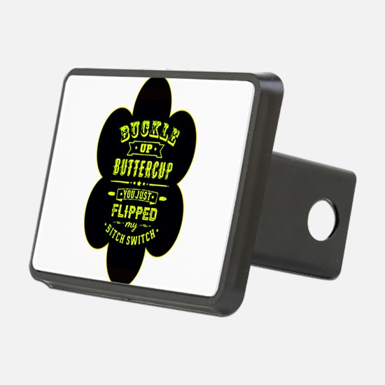 Buckle up buttercup Hitch Cover