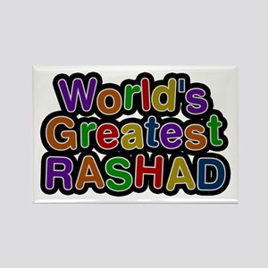 World's Greatest Rashad Rectangle Magnet