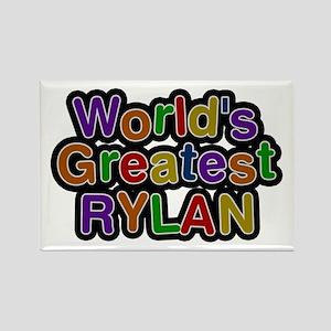 World's Greatest Rylan Rectangle Magnet