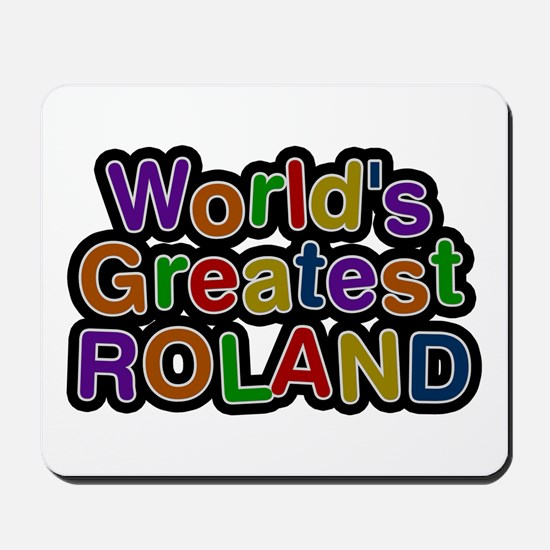 World's Greatest Roland Mousepad