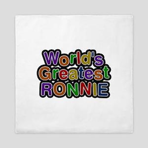 World's Greatest Ronnie Queen Duvet
