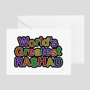 World's Greatest Rashad Greeting Card