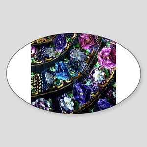 Chiapas Oval Sticker
