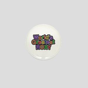World's Greatest Roxy Mini Button