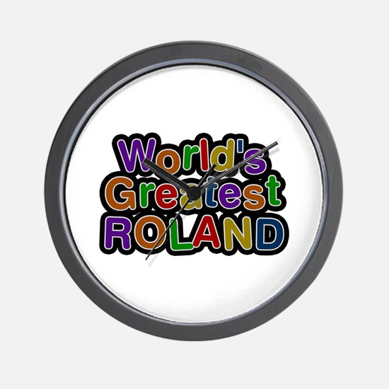 World's Greatest Roland Wall Clock