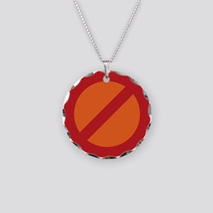The Resistance Necklace Circle Charm