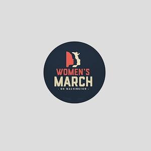 womens march on Washington Mini Button