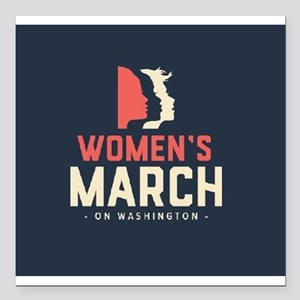"womens march on Washington Square Car Magnet 3"" x"