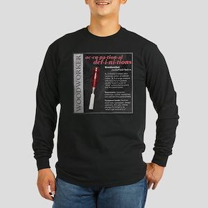 Woodworker Long Sleeve Dark T-Shirt
