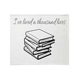 Ive lived a thousand lives Fleece Blankets