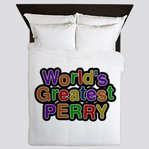 World's Greatest Perry Queen Duvet