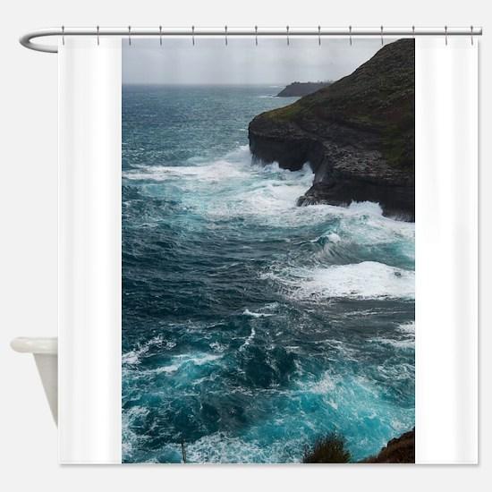 Kilauea Point National Wildlife Ref Shower Curtain
