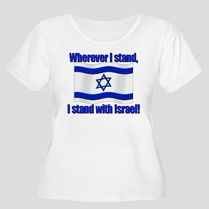 0e6a5186601 Israel Women s Plus Size T-Shirts - CafePress