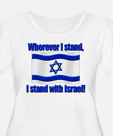 Wherever I stand Plus Size T-Shirt