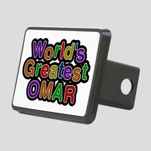 World's Greatest Omar Rectangular Hitch Cover