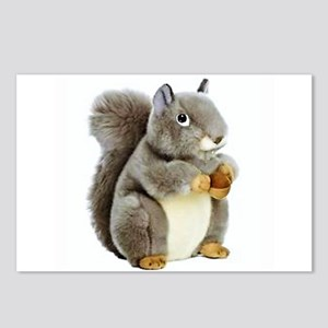 Stuffed Squirrel Postcards (Package of 8)