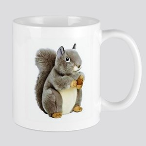 Stuffed Squirrel Mugs