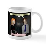 Deirdre vs Bosslet: Primitive reactions mug