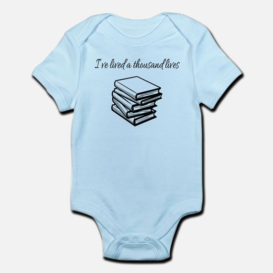 I've lived a thousand lives Books Body Suit
