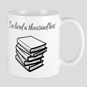 I've lived a thousand lives Books Mugs