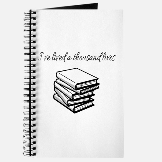 I've lived a thousand lives Books Journal