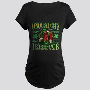 O'Squatch's Irish Pub Maternity T-Shirt