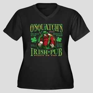 O'Squatch's Irish Pub Plus Size T-Shirt