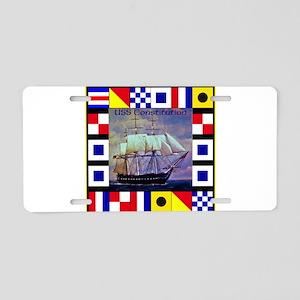 USS Constitution Aluminum License Plate