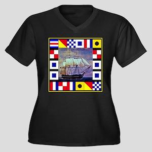 USS Constitution Plus Size T-Shirt
