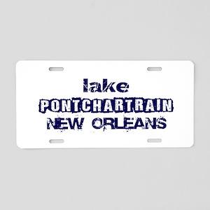 LAKE PONTCHARTRAIN NEW ORLE Aluminum License Plate
