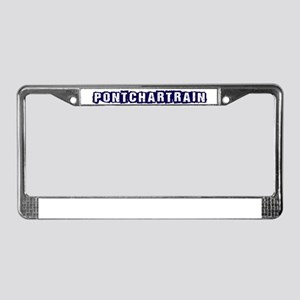 LAKE PONTCHARTRAIN NEW ORLEANS License Plate Frame