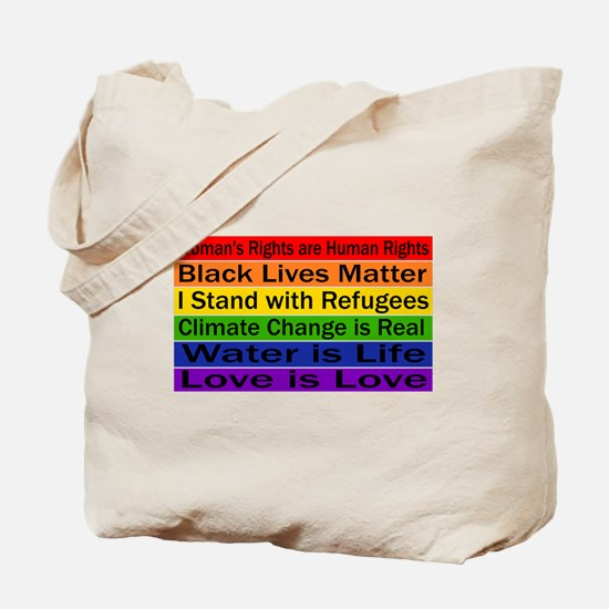 Political Protest Tote Bag