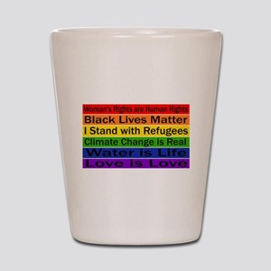 Political Protest Shot Glass