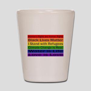 Political Protest Shot Glass