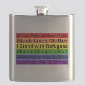 Political Protest Flask
