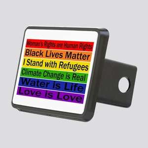 Political Protest Rectangular Hitch Cover