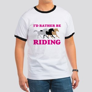 I'd Rather Be Riding Wild Horses T-Shirt