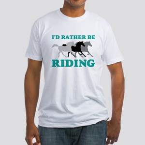I'd Rather Be Riding Wild Horses T-Shirt