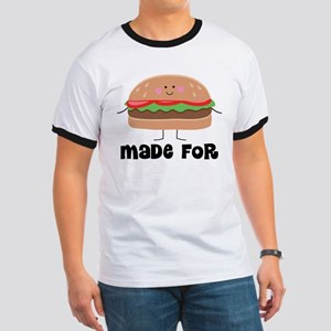 Hamburger and Fries Matching T-Shirt